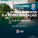 Dia do parlamento é celebrado no dia 03 de maio