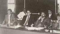 Vereadores em sessão de 1996