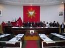 CML recebe bandeira do Divino