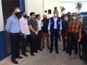 Comitiva de vereadores participa de vistoria com governador ao Hospital Regional