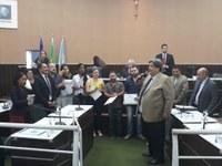 Homenagem para médicos cubanos