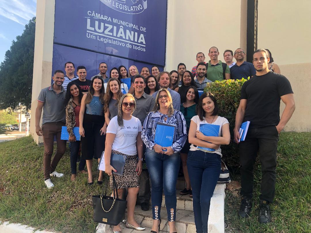 Interlegis realiza Oficinas em Luziânia