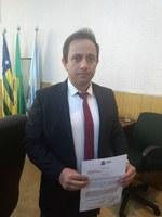 Télio Rodrigues pede ajuda para a juventude de Luziânia