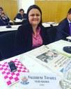 Valdirene Tavares é eleita primeira-secretária