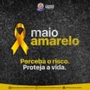 Maio amarelo conscientiza a segurança no trânsito
