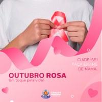 Outubro Rosa: Vamos falar sobre o câncer de mama?